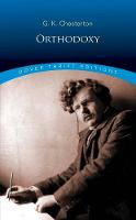 Cover for Orthodoxy by G. K. Chesterton