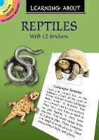 Cover for Learning About Reptiles by Jan Sovak