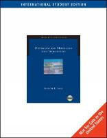 Cover for ISE-OPTIMIZATION MODELING WITHSPREADSHEETS by Kenneth Baker