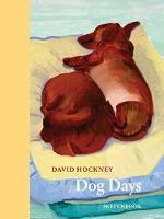 Cover for David Hockney Dog Days: Sketchbook by David Hockney