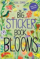 Cover for The Big Sticker Book of Blooms by Yuval Zommer