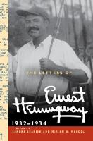 Cover for The Letters of Ernest Hemingway: Volume 5,   by Ernest Hemingway