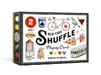 Cover for New York Shuffle Playing Cards Two Standard Decks by Sophie Blackall