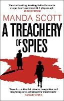 Cover for A Treachery of Spies  by Manda Scott
