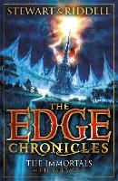 Cover for The Edge Chronicles 10: The Immortals The Book of Nate by Chris Riddell, Paul Stewart