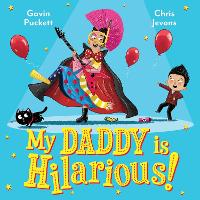 Cover for My Daddy is Hilarious by Gavin Puckett