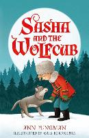 Cover for Sasha and the Wolfcub by Ann Jungman
