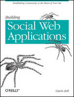 Cover for Building Social Web Applications by Gavin Bell