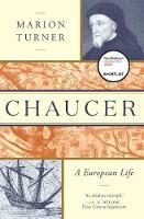 Cover for Chaucer  by Marion Turner