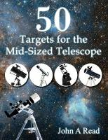 Cover for 50 Targets for the Mid-Sized Telescope by Dr John (University of Liverpool UK) Read