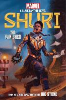 Cover for The Vanished (Shuri: A Black Panther Novel #2) by Nic Stone