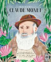 Cover for Portrait of an Artist: Claude Monet by Lucy Brownridge