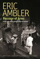 Cover for Passage of Arms by Eric Ambler