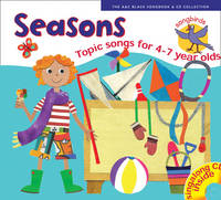 Cover for Songbirds: Seasons (Book + CD) Songs for 4-7 Year Olds by Ana Sanderson