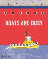 Cover for Boats Are Busy by Sara Gillingham