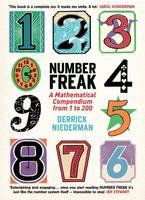 Cover for Number Freak by Derrick Niederman
