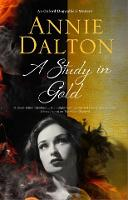 Cover for A Study in Gold by Annie Dalton