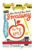 Cover for The Big Apple Mini Journal by Debbie Powell