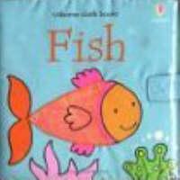 Cover for Fish Cloth Book by Fiona Watt, Rachel Wells