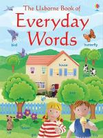 Cover for Everyday Words in English by Felicity Brooks, Felicity Brooks