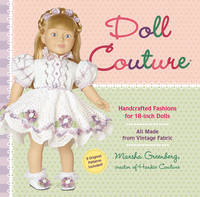 Cover for Doll Couture  by Marsha Greenberg