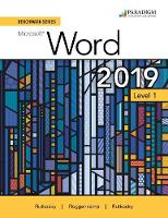 Cover for Benchmark Series: Microsoft Word 2019 Level 1  by Nita Rutkosky, Denise Seguin, Audrey Roggenkamp, Ian Rutkosky