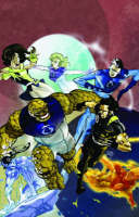 Cover for Ultimate X-men Fantastic Four by Mike Carey