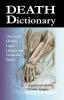 Cover for Death Dictionary  by Christine Quigley
