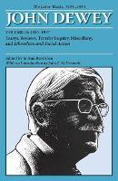 Cover for The Collected Works of John Dewey v. 11; 1935-1937, Essays, Reviews, Trotsky Inquiry, Miscellany, and Liberalism and Social Action  by John Dewey
