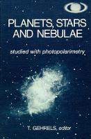 Cover for Planets, Stars and Nebulae Studied with Photopolarimetry by Tom Gehrels