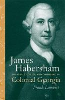 Cover for James Habersham  by Frank Lambert