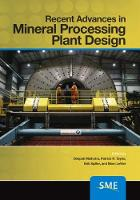 Cover for Recent Advances in Mineral Processing Plant Design by Deepak Malhotra