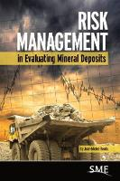 Cover for Risk Management in Evaluating Mineral Deposits by Jean-Michel Rendu