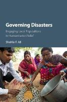 Cover for Governing Disasters  by Shahla F. (The University of Hong Kong) Ali