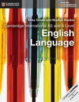 Cover for Cambridge International AS and A Level English Language Coursebook by Mike Gould, Marilyn Rankin