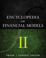 Cover for Encyclopedia of Financial Models, Volume II by Frank J. Fabozzi