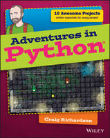 Cover for Adventures in Python by Craig Richardson