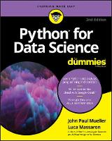 Cover for Python for Data Science For Dummies by John Paul Mueller, Luca Massaron