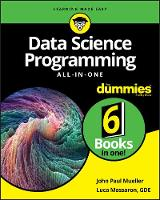Cover for Data Science Programming All-in-One For Dummies by John Paul Mueller, Luca Massaron