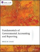 Cover for Fundamentals of Governmental Accounting and Reporting by Bruce W. Chase