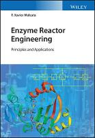 Cover for Enzyme Reaction Kinetics and Reactor Performance 2V Set by F. Xavier Malcata
