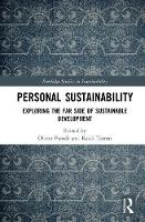 Cover for Personal Sustainability  by Oliver Parodi