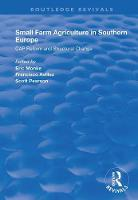Cover for Small Farm Agriculture in Southern Europe  by Eric Monke