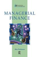 Cover for Managerial Finance by Alan Parkinson