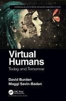 Cover for Virtual Humans  by David Burden, Maggi Savin-Baden