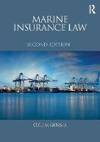 Cover for Marine Insurance Law by Dr. Ozlem Gurses