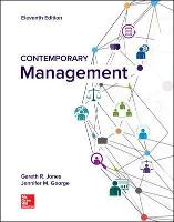 Cover for Contemporary Management by Gareth Jones, Jennifer George