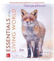 Cover for ISE Essentials of The Living World by George Johnson