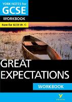 Cover for Great Expectations: York Notes for GCSE (9-1) Workbook by Lyn Lockwood