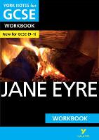 Cover for Jane Eyre: York Notes for GCSE (9-1) Workbook by Caroline Woolfe